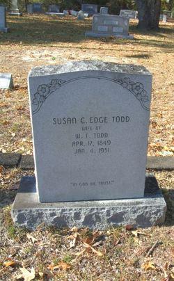 Susan Caroline <I>Edge</I> Todd