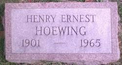 Henry Ernest Hoewing