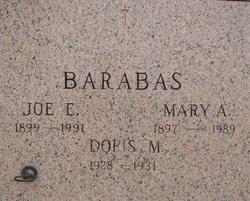 "Joseph Edward ""Joe"" Barabas Jr."