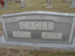 """Mary Caroline """"Mittie"""" <I>Coggin</I> Cagle"""