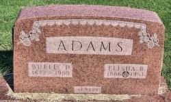 Burlie D <I>Moore</I> Adams