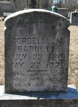 Cordelia M Barnett