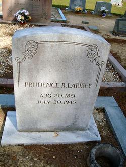 Prudence R. Larisey