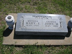 Mary Elizabeth <I>Adams</I> Dick
