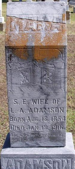 Sarah Elizabeth <I>Gass</I> Adamson