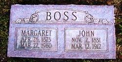 "Margaretta ""Margaret"" <I>Gertsch</I> Boss"