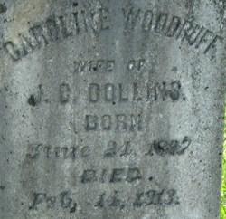 Caroline <I>Woodruff</I> Collins