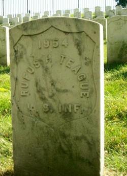 Pvt Rufus H. Teague