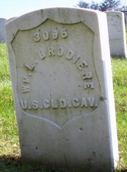 Pvt William L. Brodiere