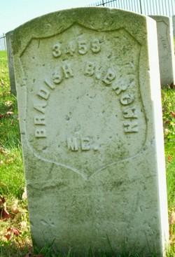 Pvt Bradish B. Brown