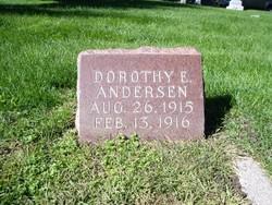 Dorothy E Andersen