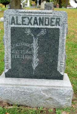 A. E. Alexander