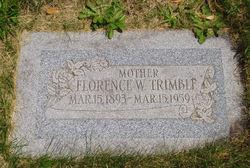 Florence Maude <I>Wade</I> Trimble