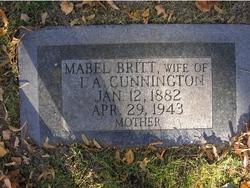 Mabel <I>Britt</I> Cunnington