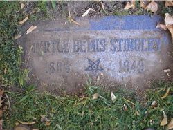 Myrtle Christmas <I>Bemis</I> Stingley