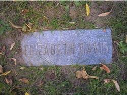 Elizabeth <I>Davies</I> Davis