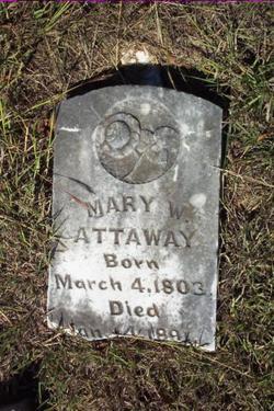"""Mary W """"Polly"""" <I>Ezell</I> Attaway"""