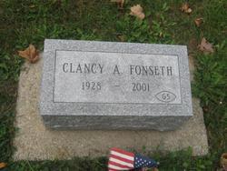 Clancy A. Fonseth