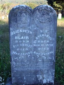 Elizabeth <I>Turney</I> Blair