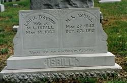 Louisa Jane <I>Brown</I> Isbill