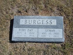 Ruby <I>Day</I> Burgess