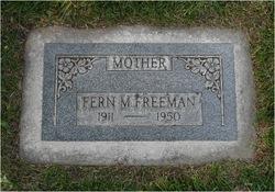 Fern <I>Murdock</I> Freeman