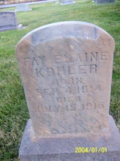 Fay Elaine Kohler