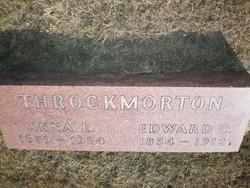 Anna E. <I>Stiff</I> Throckmorton