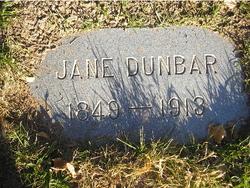 Jane <I>McCarthy</I> Dunbar