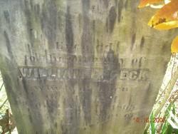 Lieut William Edward Peck, Sr