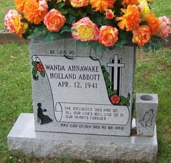 Wanda Ahnawake <I>Holland</I> Abbott