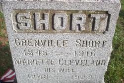 Mariette <I>Cleveland</I> Short