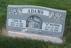 """D. Watson """"D"""" Adams"""