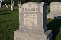 Emma Matilda <I>Scoles</I> Adams