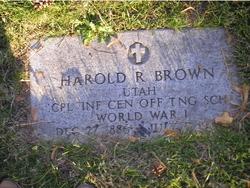 Harold Ross Brown