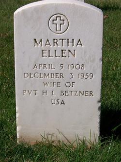 Martha Ellen Betzner