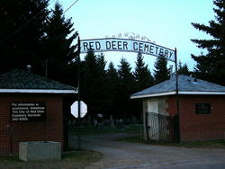 Red Deer Cemetery
