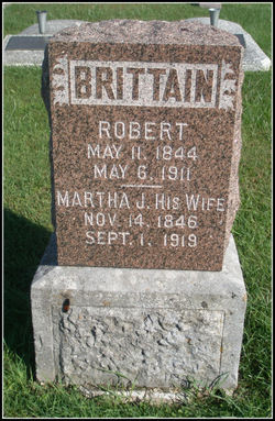 Martha Jane <I>Hill</I> Brittain