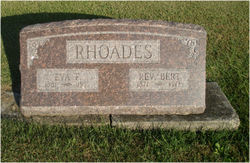 "Rev Albert ""Bert"" Rhoades"