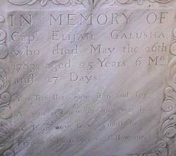 Capt Elijah Galusha