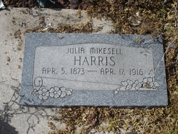 Julia Achsah <I>Mikesell</I> Harris