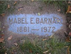 Mabel <I>Eager</I> Barnard