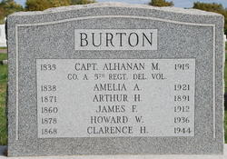 Capt Alhanan M. Burton