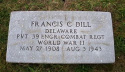 Pvt Francis Cubbage Dill