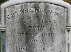 William S Mendenhall