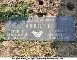 Cecil J Abbott