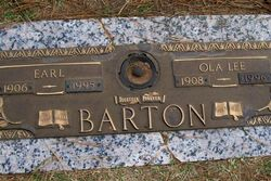 Ola Lee <I>Wesner</I> Barton