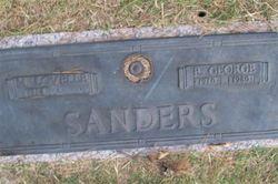 """Mary Lovelle """"Lovelle"""" <I>Walker</I> Sanders"""