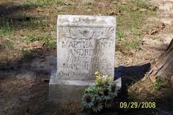 Martha Ann <I>Purvis</I> Andrews