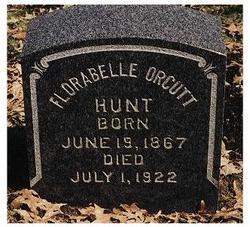 Flora Belle <I>Orcutt</I> Hunt
